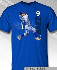 Chicago-Cubs-MLBPA-JAVIER-BAEZ-9-Baez-N-Motion-Youth-Boys-Cotton-Tee-Shirt-Blue
