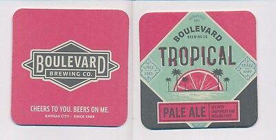 Boulevard Brewing Bierdeckel Beercoasters Kansas City 23502 Praktisch 1 Usa FüR Schnellen Versand