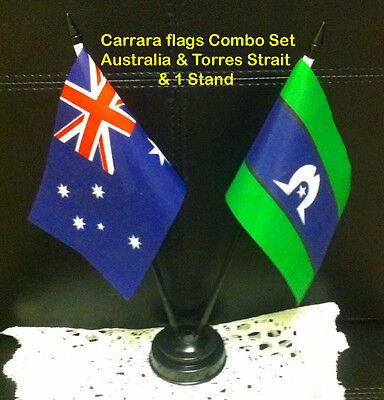 Torres Strait//Toress Strait Flag Unisex Sunglasses-GREAT VALUE.HURRY!Big Lenses
