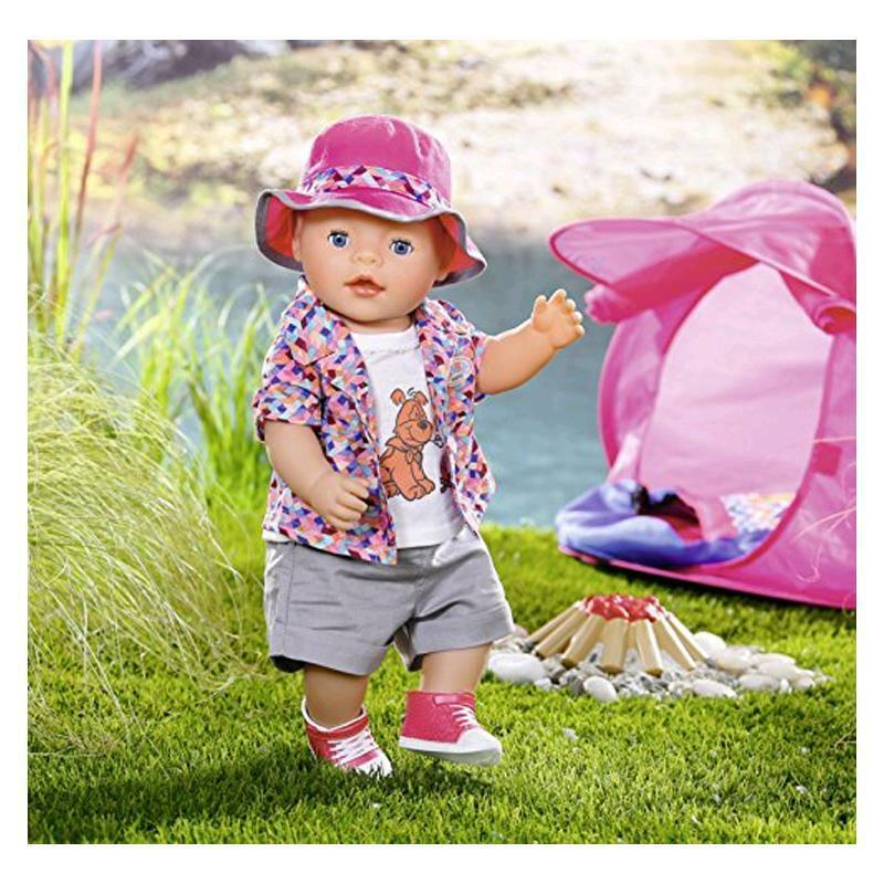 Zapf Creation Baby Born Play and Fun Fun Fun Deluxe Summer Camping Outfit Official New d6a318