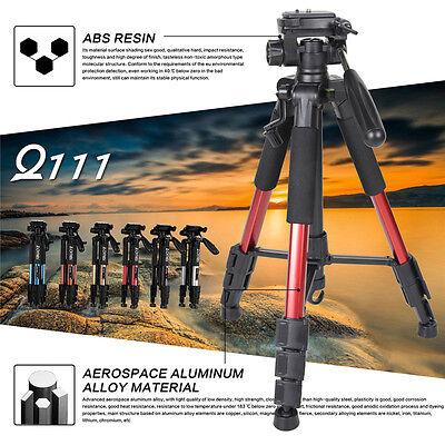 ZOMEI Q111 Professional Aluminum Travel Tripod&Pan Head Portable For DSLR Camera