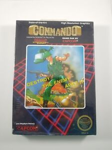 Vintage-Commando-NES-Nintendo-Entertainment-System-Factory-Sealed-Video-Game