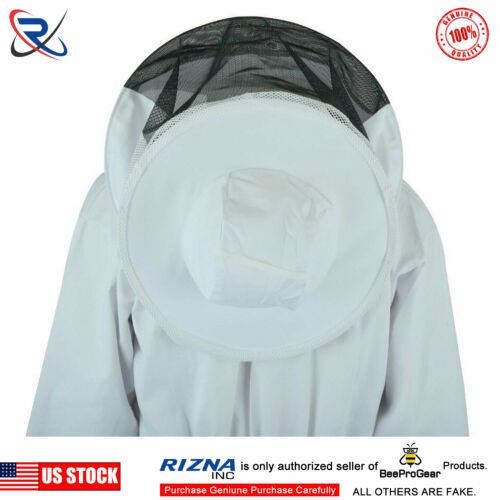 beekeeping jacket protective Round veil hat Professional beekeeper 2X-Large