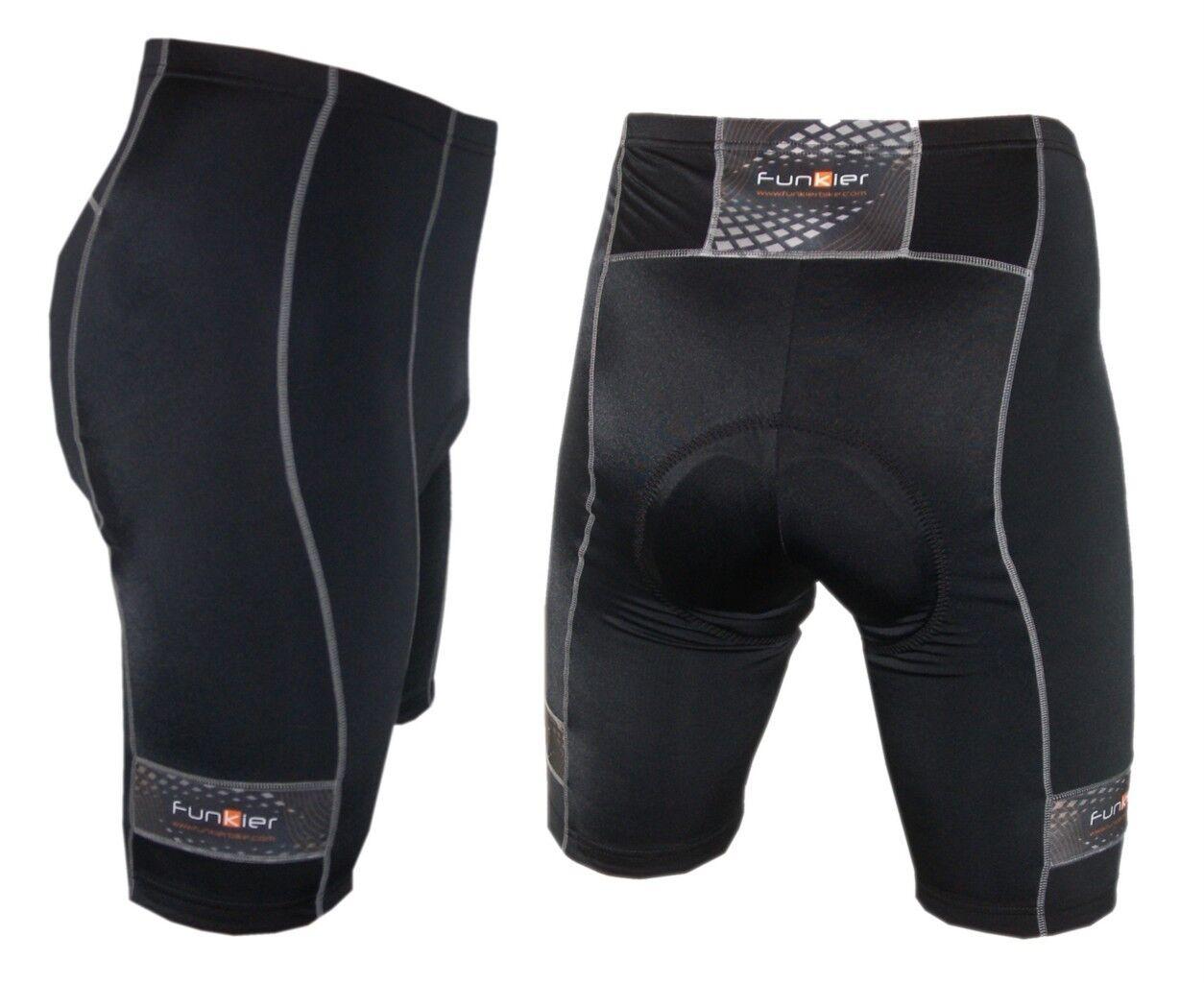 Funkier Men's Cycling Shorts  S-203-C1 , 9 Panel Men's cycling shorts  guaranteed