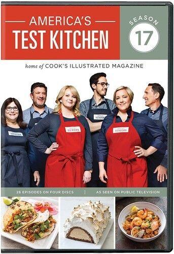 Astonishing Americas Test Kitchen Season 17 Dvd 2017 4 Disc Set Complete Home Design Collection Barbaintelli Responsecom