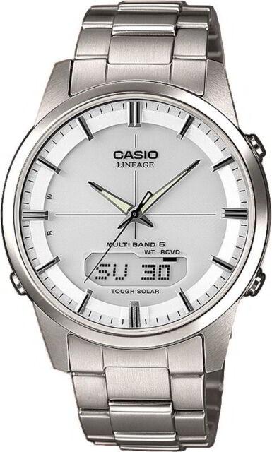 Casio Uhr Funkuhr LCW-M170TD-7AER Solar Titan Herren Armbanduhr