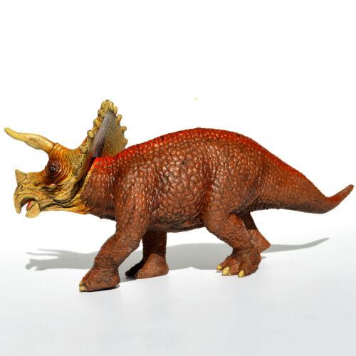 Triceratops Dinosaurs Figure Educational Toy Model Birthday Large Stegosaurus