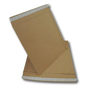 10-x-12-034-LP-STRONGEST-ALL-BOARD-PEEL-amp-SEAL-BROWN-RECORD-MAILERS-625GSM