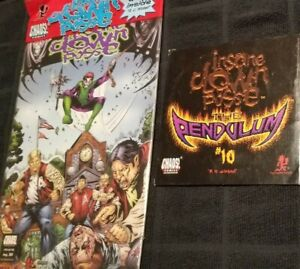Insane Clown Posse - The Pendulum 10 Comic Book & CD set zug izland twiztid icp
