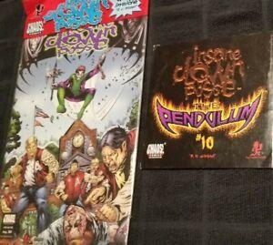 Insane Clown Posse - The Pendulum 10 Comic Book & CD set zug izland twiztid icp