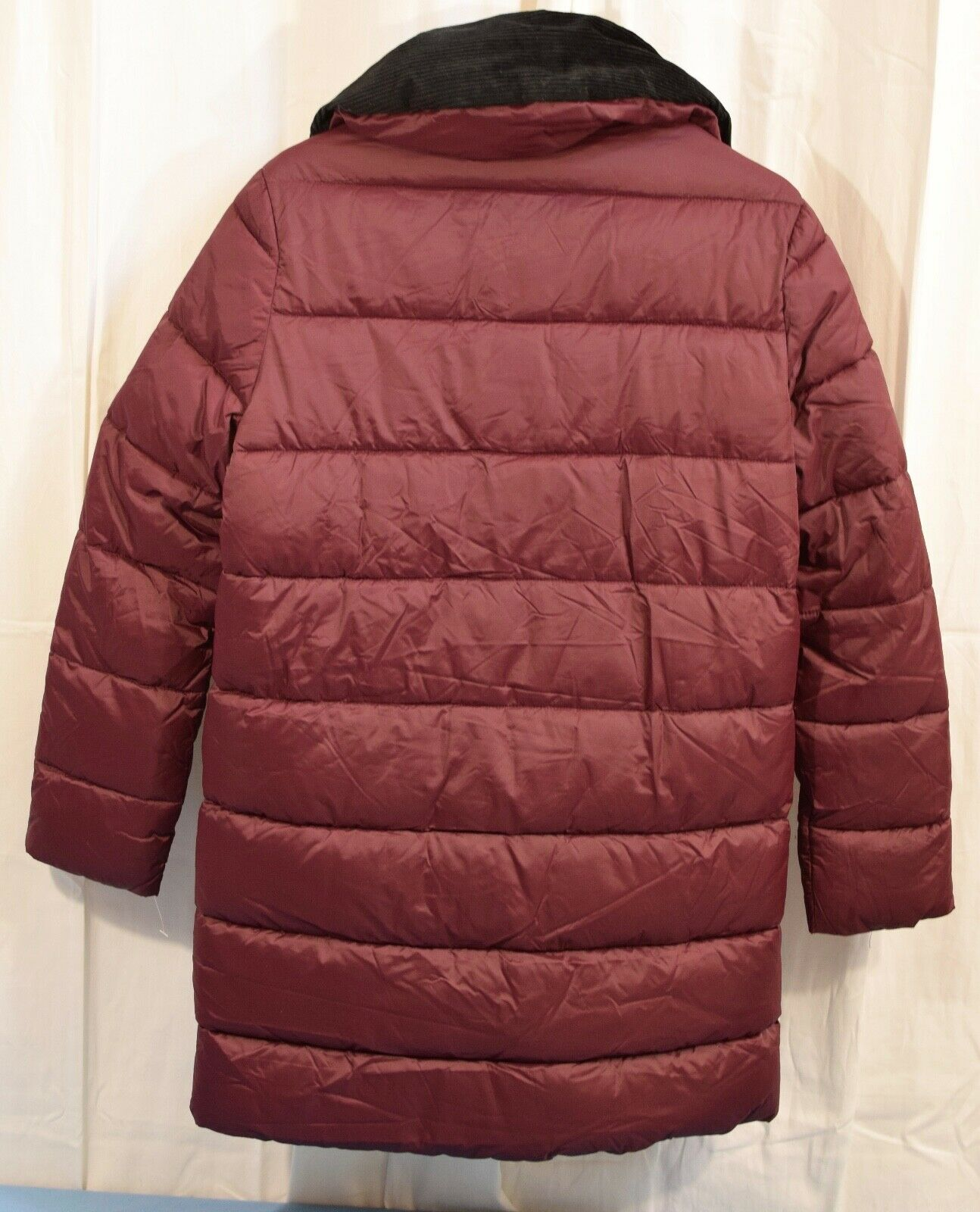Barbour Women's Quilted Puffer Cranberry Size 8 - image 2