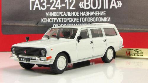 Gaz-24-12 VOLGA URSS soviétique Auto Legends Diecast modèle DEAGOSTINI 1:43 #150