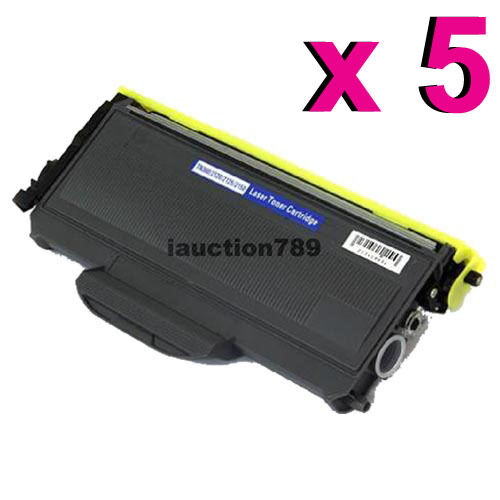 5x TN-2150 Toner for Brother HL2140 HL2142 HL2150N HL2170W MF7340 MFC7440