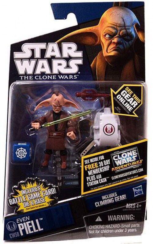 Star Wars Wars Wars The Clone Wars Clone Wars 2011 Even Piell Action Figure CW58 5e2e96