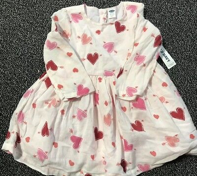 Old Navy Baby Girl Dress Valentines Day 12-18 Months | eBay