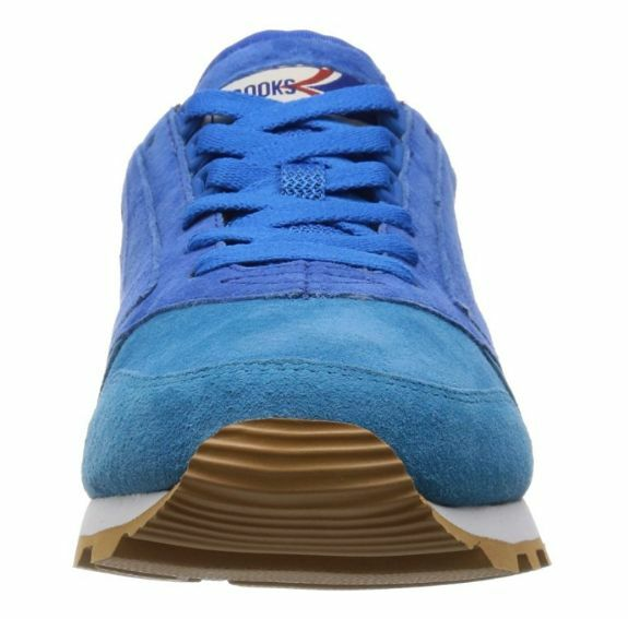 BROOKS (M) 1101781D489 CITY COLLECTION CHARIOT Mn's (M) BROOKS Peacoat Suede Casual Shoes 1d3a1e