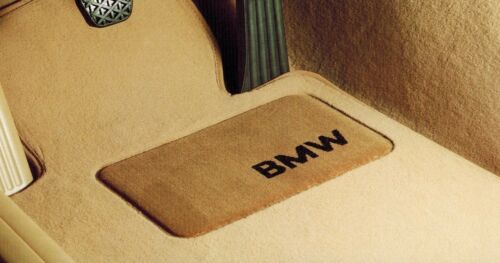 BMW E90 E91 3-Series Genuine Carpeted Floor Mat Set Mats NEW 2006-2011 Set of 4
