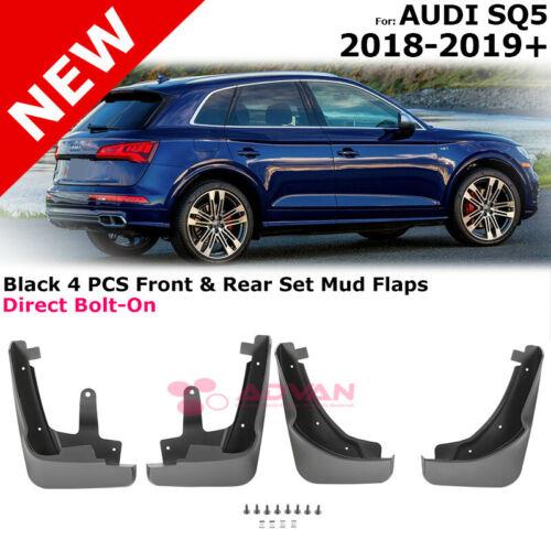 Audi SQ5 Mud Flaps Mudguards Trim Splash Guards Full Set Front Rear 2018-2019