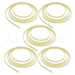 5-Cream-Twill-Quality-5-Feet-Celluloid-Guitar-Binding-Purfling-6-width-x1-5-mm