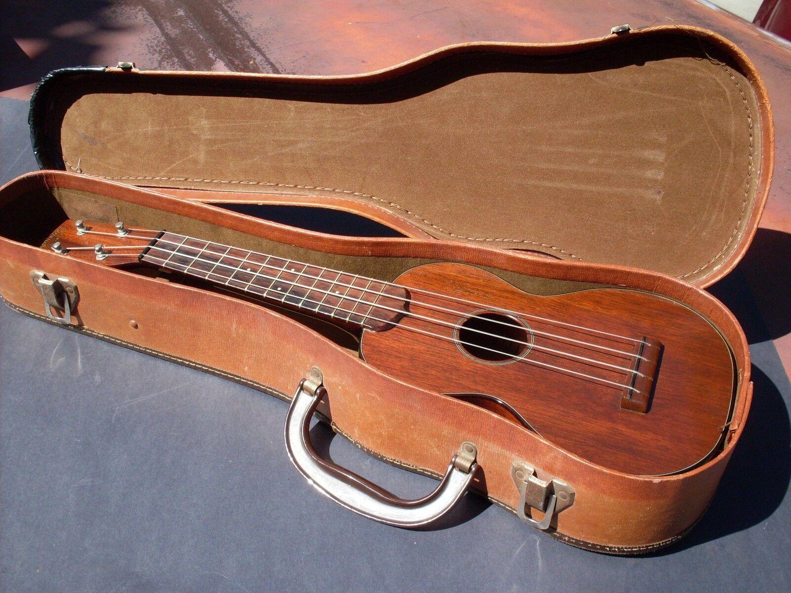 Década de de de 1950 Vintage Estilo Martin Ukelele Soprano 1 Muy Buen Estado  100% precio garantizado