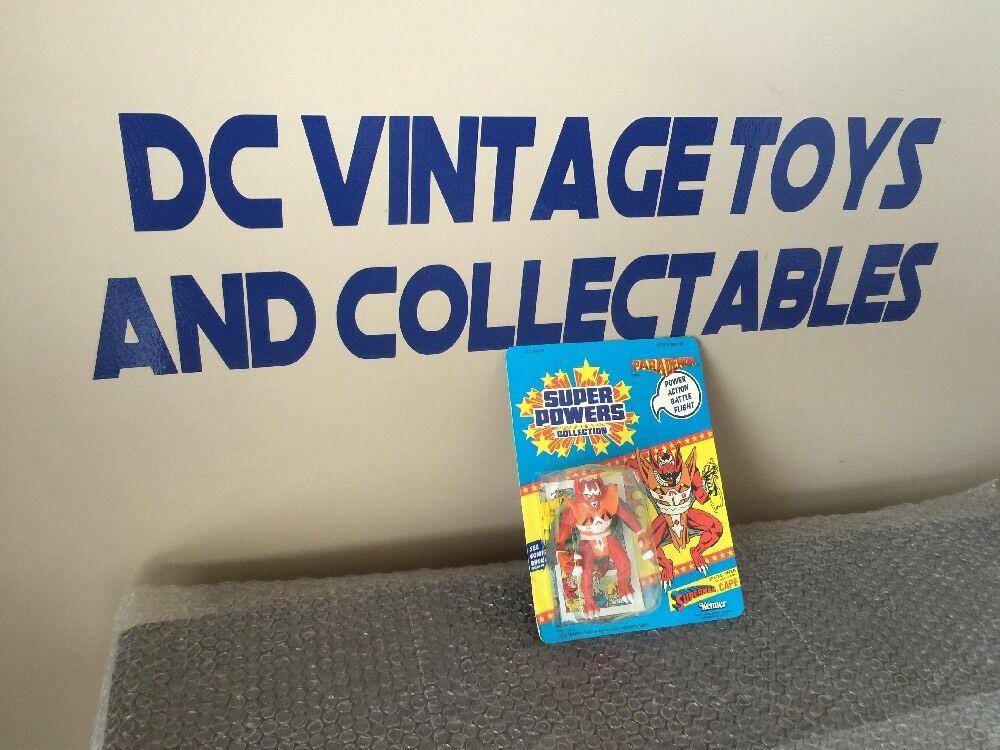 Kenner SUPER POWERS PARADEMON Action Figure DC COMICS 1985 UN-PUNCHED w Comic