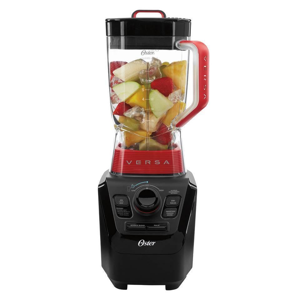 OSTER BLSTVB - 104-000 VERSA PRO Blender avec de la nourriture processeur, Smoothie tasses, Mini Jar
