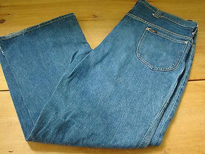 Avere Una Mente Inquisitrice 1970's Uomo Lee Jeans Vintage Sz 40x30 Made In Usa Usato