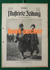 BERLINER ILLUSTRIRTE ZEITUNG 1915 Nr. 37: Der Eiserne Hindenburg in Berlin