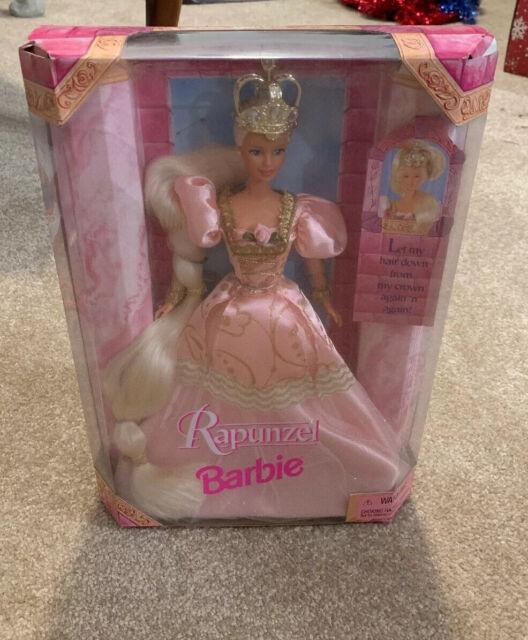 Rapunzel 1997 Barbie Doll NIB new In Box