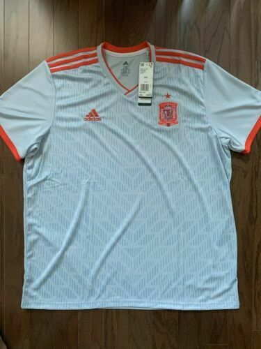 adidas Away Spain Jersey World Cup Soccer 2018 Br2697 Size 2xl for sale online | eBay