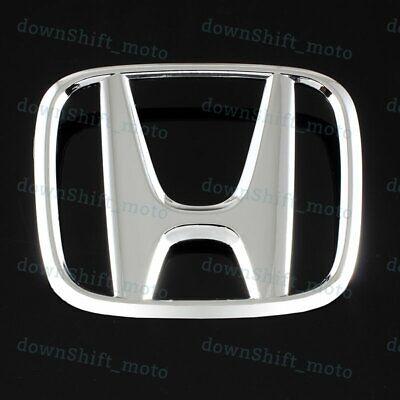 """New Chrome Rear Trunk /""""H/"""" Emblem Badge For 2013-2015 Honda CIVIC Sedan 4DR DX SI"""