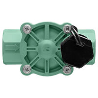 Electric Inline Irrigation Valve Underground Sprinkler Plastic 0.75-in Female