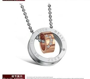 sale-Rose-Gold-amp-Silver-Promise-Oath-Pendant-Necklace