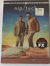 Nip Tuck Season Five Part One DVD 2008 5 Disc Set New Sealed FX TV Series