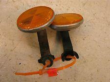 1978 honda xl75 enduro reflectors w mounting brackets h881~
