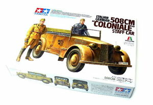 Tamiya-Military-Model-1-35-Italian-German-508cm-Coloniale-Staff-Car-Hobby-37014