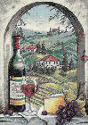 Dimensions D06972 Dreaming of Tuscany Picture Counted Cross Stitch Kit 13 X 18cm
