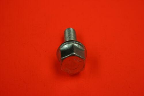 GOUJON de ROUE BOULON JANTE  Acier Chromé M 12 x 1,25 x 27 mm.