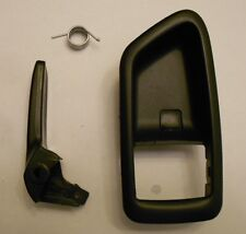99-03 SOLARA RIGHT BLACK INSIDE TOYOTA DOOR HANDLE REPAIR KIT W/ BEZEL COVER
