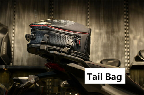 Removable Motorcycle Tail Bag Rear Seat Top Case Luggage Shoulder Pocket Box 1x
