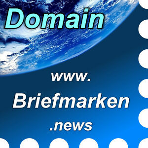 www.briefmarken.news - Domain / Web-, Internet-Adresse / URL - Philatelie