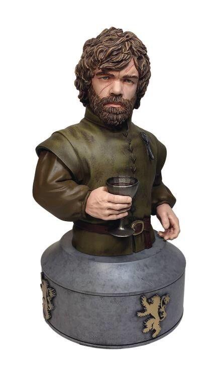 Juego De Tronos Tyrion Lannister Busto Limitado  025 1250 de 7.5 pulgadas