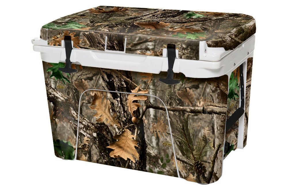 USATuff 75qt Wrap Skin Full Kit fits YETI 75qt USATuff Cooler -  Sale - Woodland Camo 358171