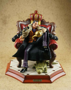 One Piece Sir Crocodile Resin Model Sculpture Gk Statue Painted In Stock Hmb Hot Ebay