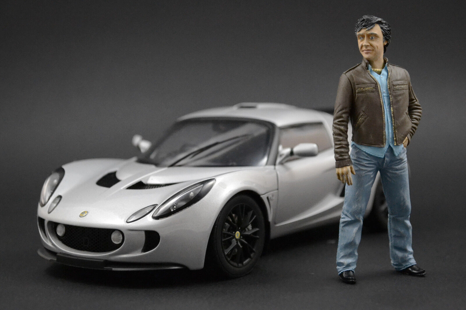 Richard Hammond Figure pour 1 18 Ford  Mustang Shellby GT500 AUTOart  marque