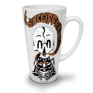 Skeleton Coffee NEW White Tea Coffee Latte Mug 12 17 oz | Wellcoda