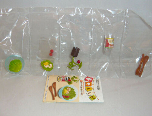 Each Sell Separately Rare 2012 Re-Ment Happy Recipe