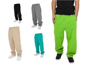 URBAN-CLASSICS-Herren-Jogginhose-Sweatpants-Swepant-Hip-Hop-Urban-Classic-Style