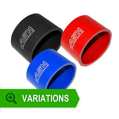 Red Blue or Black STRAIGHT SILICONE HOSE JOINER AIR INTAKE TURBO INTERCOOLER