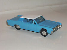Dinky  Toys #170 Lincoln Conintenal  with chrome hubs, Minty restoration
